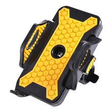 Universal Motorcycle MTB Bike Bicycle Handlebar Mount Holder for Ipod Cell Phone GPS Stand Holder for Iphone Samsung (Color: Yel
