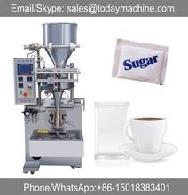Small gram sugar/tea/coffee/salt sachet packing machine paper plastic packing material film roll