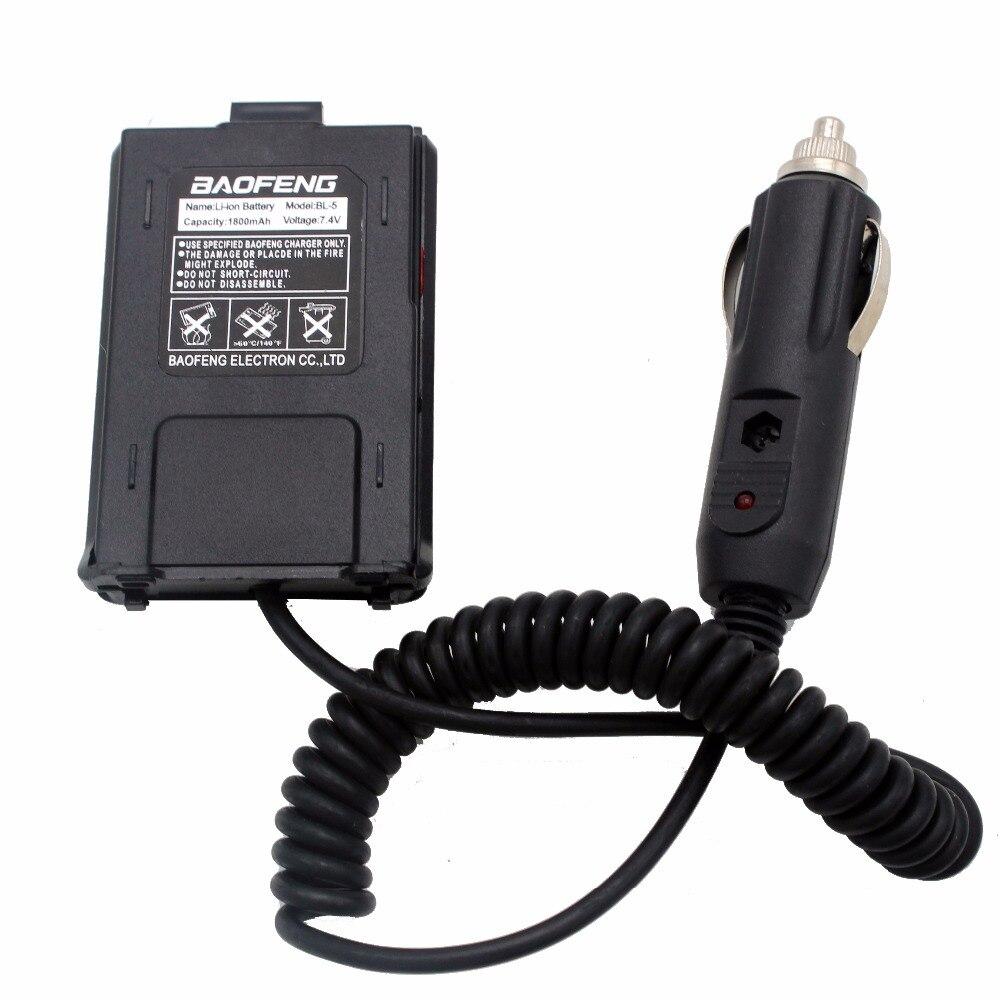 bilder für Auto ladegerät 12 v battery eliminator für baofeng uv-5r serie zweiwegradio uv-5r uv-5ra uv-5rb uv-5rc uv-5replus rt-5r uv985 a81
