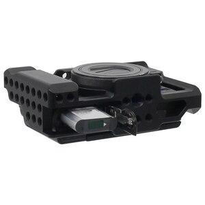 Image 4 - Rx100 Iii (M3) Iv (M4) V (M5) camera Kooi Voor Sony Rx100 Iii (M3) Iv (M4) V (M5) dslr Camera Case Camera Rig Koude Schoen