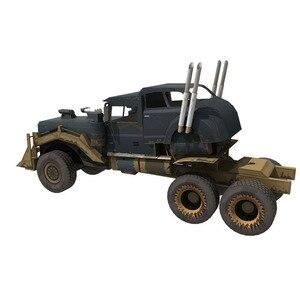Image 4 - FAI DA TE di Carta Modello di Mad Max War Rig 1:25 Papercraft FAI DA TE Assemblare Fatti A Mano Di Puzzle Gioco Educativo Giocattolo