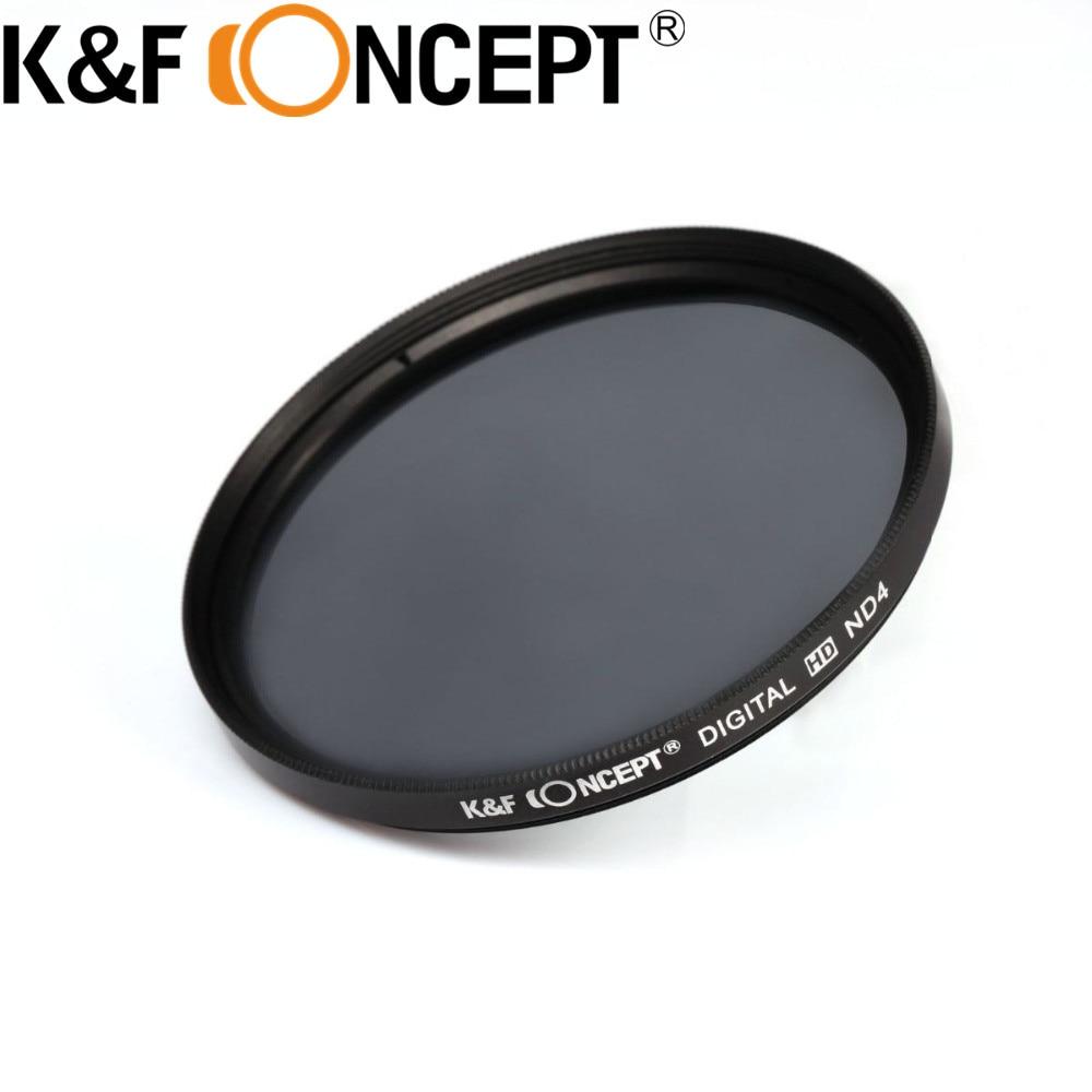 K & F CONCETTO 37/40. 5mm UV CPL FLD Lens Filter + Densità Neutra ND2 ND4 ND8 ND 2 4 8 Kit Filtro per Nikon per Sony DSLR Camera lente
