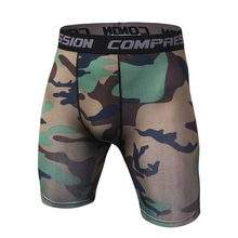 Camouflage Compression Workout Short Pants Comfortable Quickdrying Tight Military Trouser Male Casual Men Shorts Breathable Tops(China)