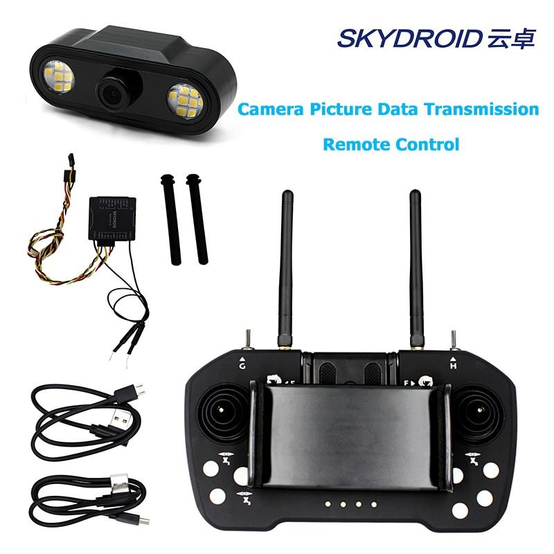 Skydroid T12 Remote Control Three body camera 20km digital map transmission remote control camera four in