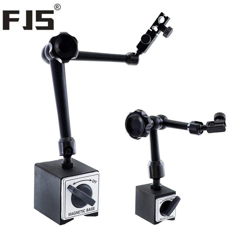 Suporte Base magnética 200mm/350mm Indicador Magnético Suporte Universal Flexível Para Relógio Comparador Medidor de Ferramenta de Medição de Nível
