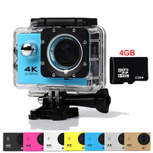 Goldfox Brand H9 Style Mini Action Digital camera Photo deportiva DV Ultra HD 4K WiFi 1080P Sport go waterproof pro Cam Car DVR