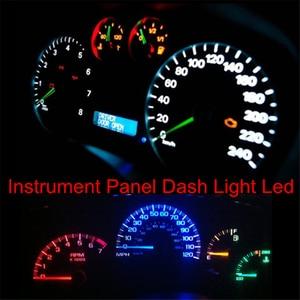 Image 5 - WLJH tableau de bord lumineux 12V, ampoule Instrument et de jauge, T5 Led, 7 couleurs, pour BMW E36 E3 E21 E23 E24 E28 E30 E34 E38 E31 E12 Z3