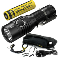 Sale 2018 NITECORE MH23 18650 Rechargeable Battery 1800 Lumen CREE XHP35 HD LED Torch Outdoor Camping Waterproof Mini Flashlight