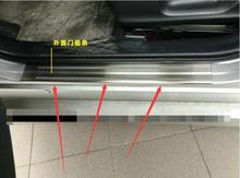 Fit For Prius 2016 2017 Stainless Steel Door Sill Scuff Plate Threshold Pad Tread Plate Welcome Pedal 4PCS/SET & Popular Prius Door Sill-Buy Cheap Prius Door Sill lots from China ... Pezcame.Com