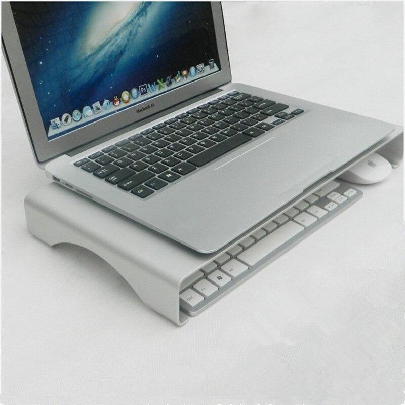 Support d'ordinateur portable Hmsunrise pour Apple iMac pour Lenovo support de pc support de moniteur en métal