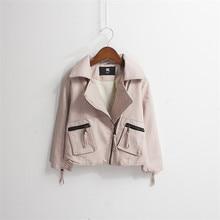 цена Autumn Kids Jacket PU Leather Girls Fur lining Jackets Clothes Children Outwear For Baby Girls Clothing Coats WARM JACKET PU10 онлайн в 2017 году