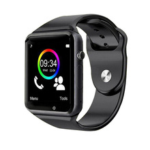 Rinsec A1 Smart Watch Clock Sync Notifier Support SIM TF Card Connectivity Apple iphone Android font
