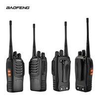 שתי דרך רדיו 2 PCS Baofeng BF-888S מכשיר קשר UHF שתי דרך CB 888s הרדיו הנייד Baofeng רדיו פנס למרחקים ארוכים עם אפרכסת (2)
