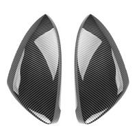2 pieces for VW Golf 7 MK7 7.5 GTD R GTI MK6 6 Polo 6R 6C Scirocco Passat B7 Jetta MK6 Beetle Side Wing Mirror Cover Caps E GOLF