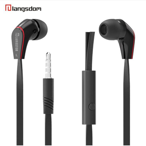 Image 1 - Langsdom Mini New wired in ear Earphone JM12 for music gaming sport portable headset super bass stereo earphones with microphone