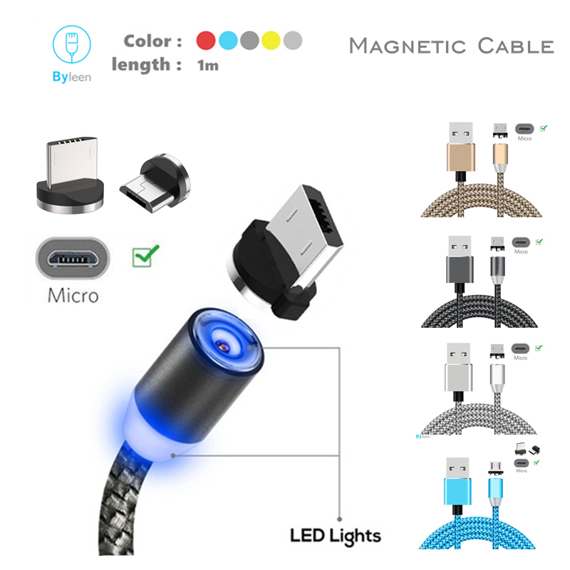 5Pin Magnetic <font><b>Charger</b></font> Micro USB <font><b>Cable</b></font> For <font><b>Samsung</b></font> Galaxy Tab J1 J2 J3 J5 J7 2015/2016, A3 A5 A7 <font><b>A8</b></font> A9 2016 S7 edge S7 Redmi 4 5 image