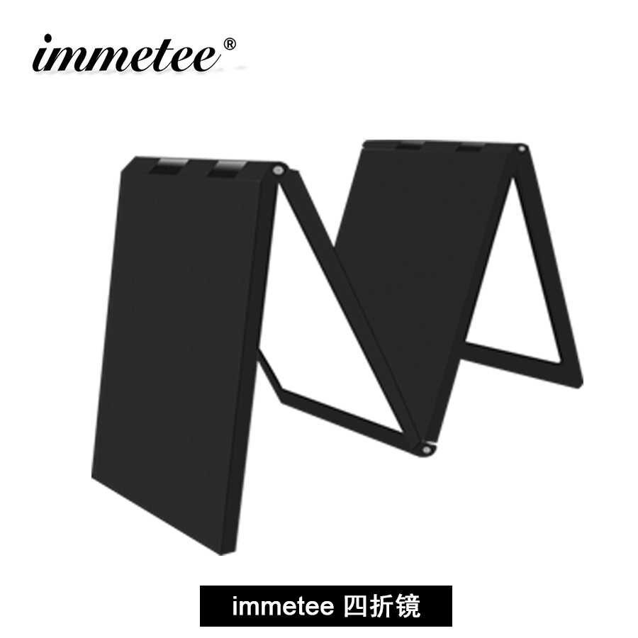 Immetee 360 Graden Spiegel Voor Haarverzorging Product Accessoires 4 Panel Uitschuifbare Spiegel Neutrale Pakket