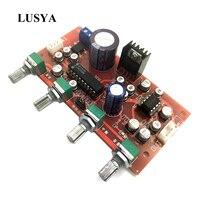 Lusya LM1036 + NE5532 Preamp amplifier board With treble  bass  balance  volume adjustment Single-supply operation