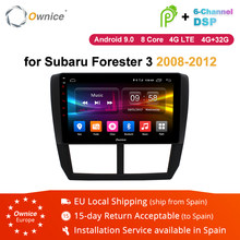 Ownice K1 K2 K3 K5 K6 2Din Android 8.1 8 Core Car DVD player GPS Navi Radio For Subaru Forester 2008 - 2012 Autoradio Head Unit(China)