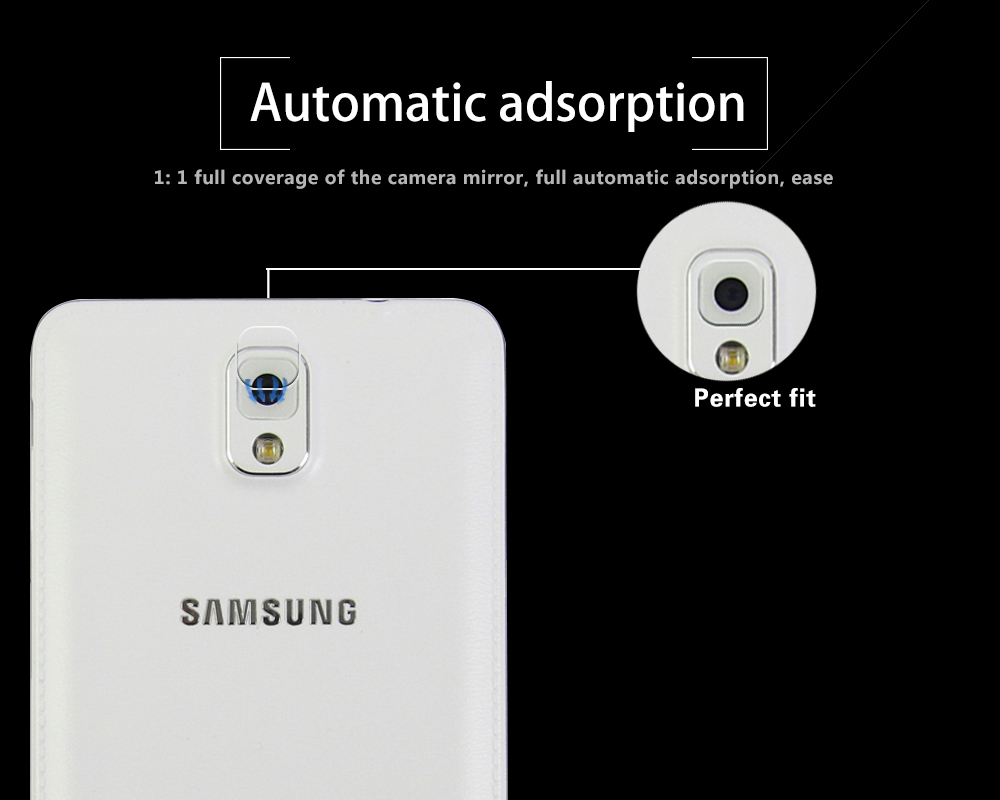 Ultra-thin Back Camera Lens Tempered Glass Film For Samsung GALAXY Note 3 Glass for Samsung N9006 Rear Lens Protective Film