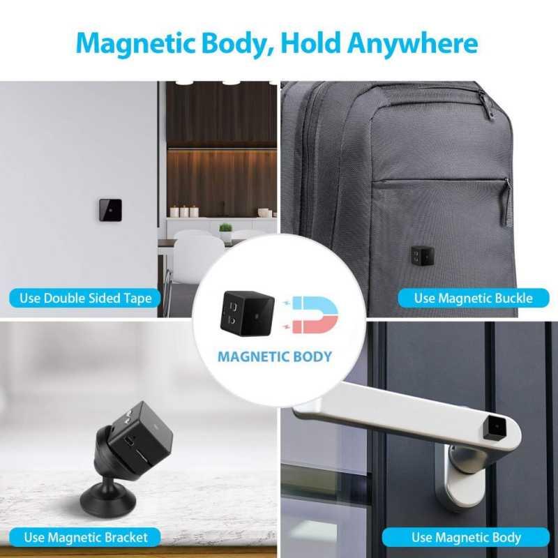 Для мини-видеокамер HD1080P Высокое разрешение инфракрасный Ночное видение видео Регистраторы цифровая DV камера экшн-видеокамера мини Камера