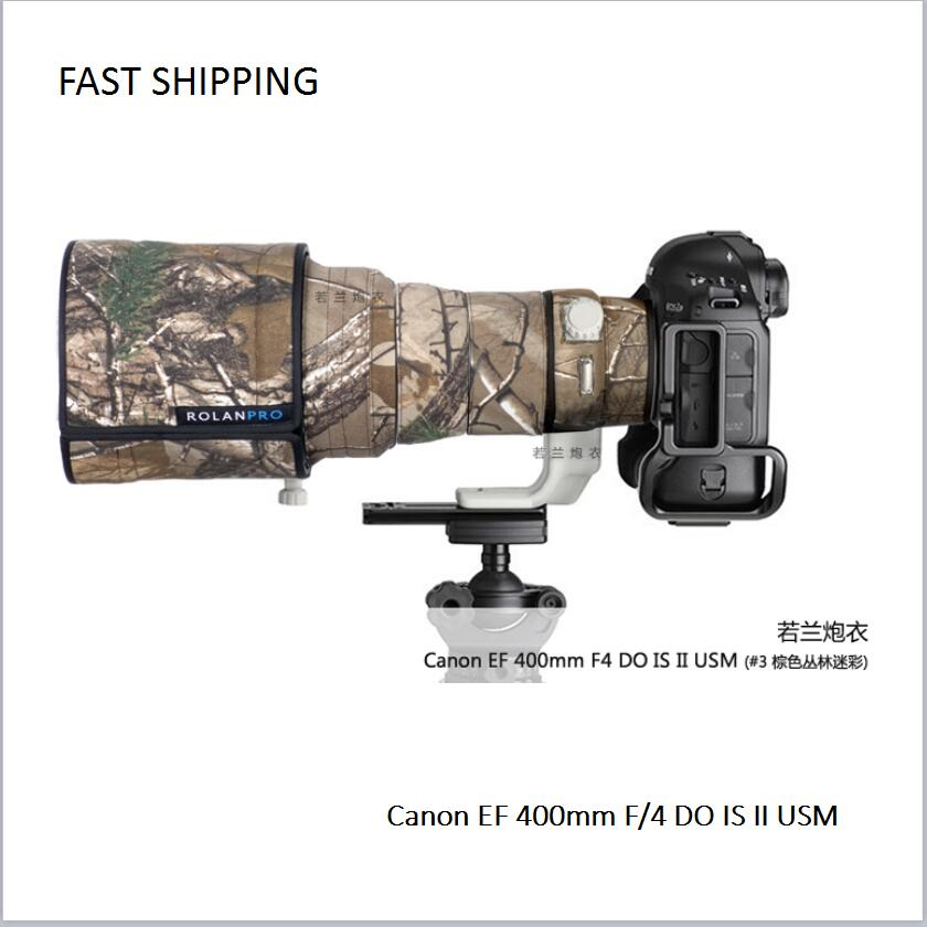 2018 new lens coat waterproof camouflage for Canon EF 400mm F/4 DO IS II USM pt0014