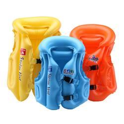 ПВХ детей Купание и плавание помощь безопасности поплавок надувной для плавания жилет для Плавание спасательный жилет плавучести помощи