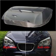Для BMW X1 E84 2010- передние фары прозрачные абажуры лампы оболочки маски фары крышка объектива фары стекло