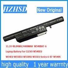 11 1v 48 84wh 4400mah new Original W540BAT 6 font b Battery b font for Clevo