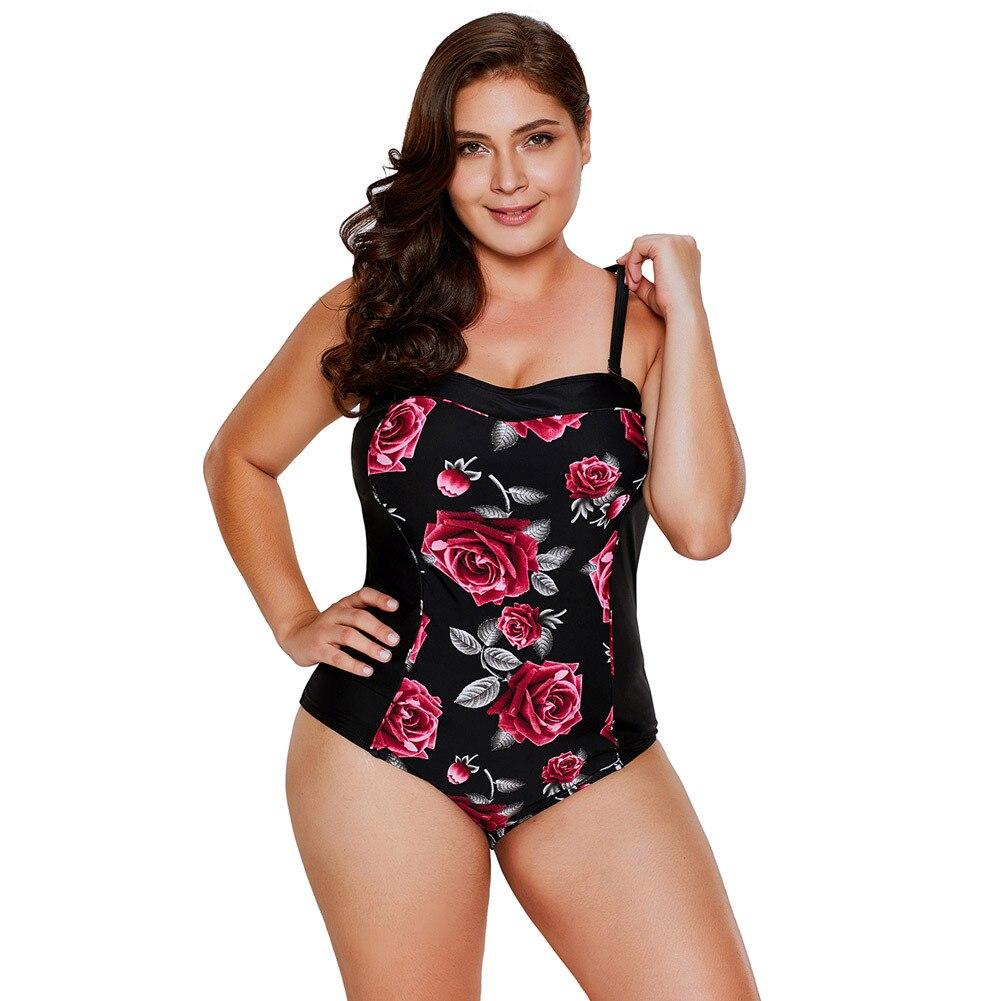La MaxPa Vintage Flower Swimwear Әйелдер XL Swimsuit - Спорттық киім мен керек-жарақтар - фото 1