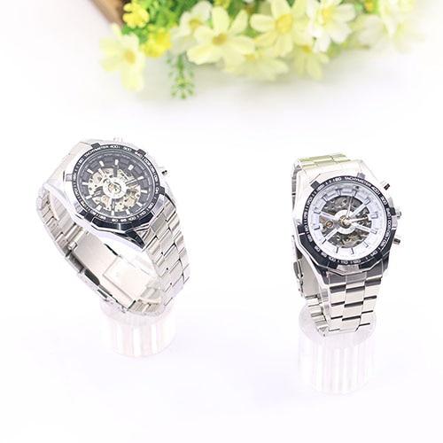 Gofuly 2020 Heren Horloges Rvs Mechanische Horloge Hand-Winding Skeleton Automatische En Sport Polshorloge Orologio Uomo 6