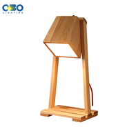 Wood Modern Adjustable Table Lamp Bedroom/Bedside Study Read Light Table Light E27 110 240V Free Shipping