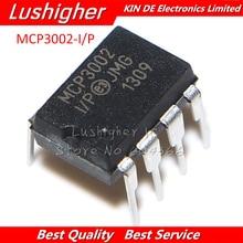 2Pcs MCP3002 I/P Dip 8 MCP3002 DIP8