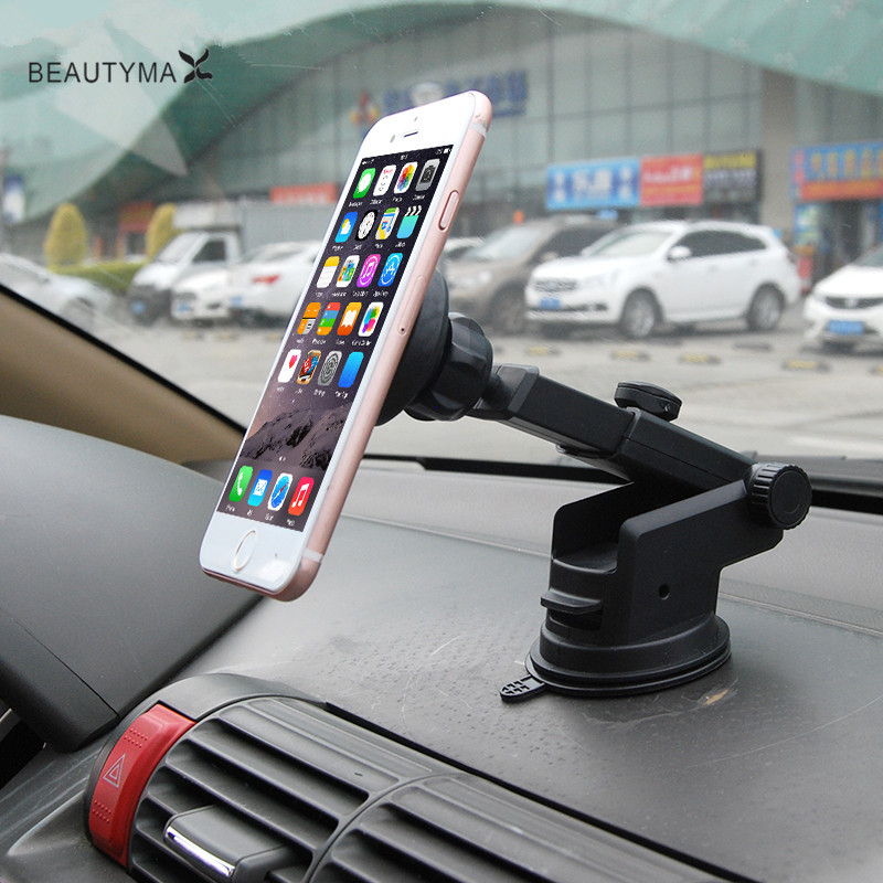 car-styling Car phone holder for iPhone 7 cellular phone magnetic Suporte Movil for iphone 7plus Samsung s8 huawei p9 lite