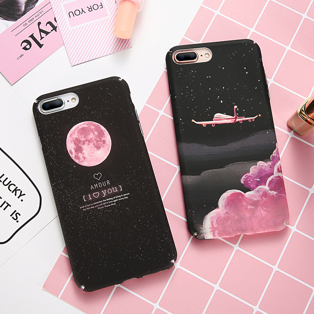 XS Max XR Coque Case For iPhone 6 6S 7 8 Plus 5 5S SE Cover Luxury Hard PC Ultra Thin Phone Case For iPhone X 10 XS Max XR SE 5S
