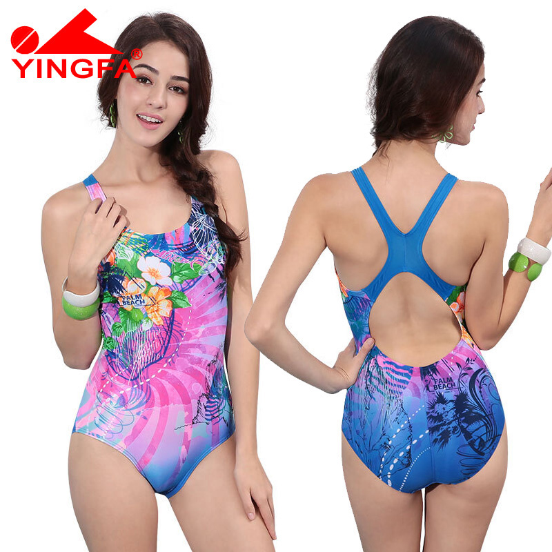 Yingfa 2017 New Sexy Sport Suits One Piece Swimsuits Swimwear Women Summer Padded Swimsuit Training  Beach Bathing suit women plus size swimsuit one piece swimwear new sexy sport suits one piece swimsuits swimwear women bodysuit beach bathing suits