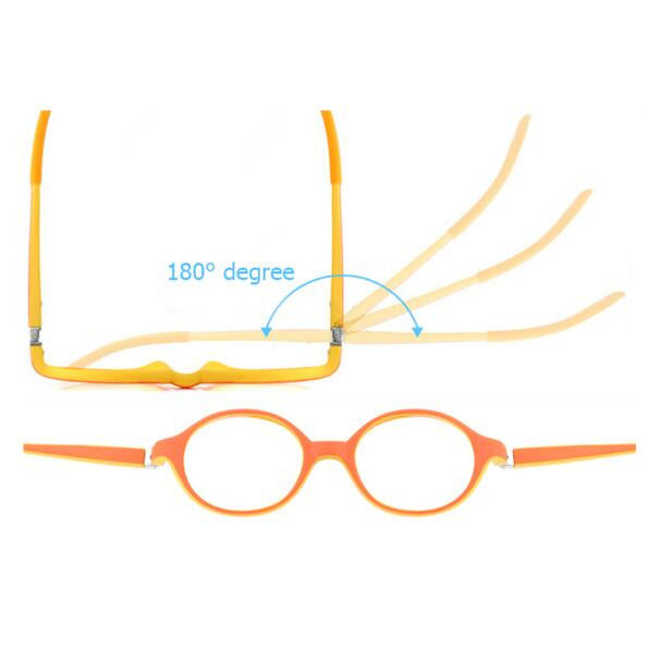 Online Shop Healthy Silicone Children Clear Glasses Girls Boys ...