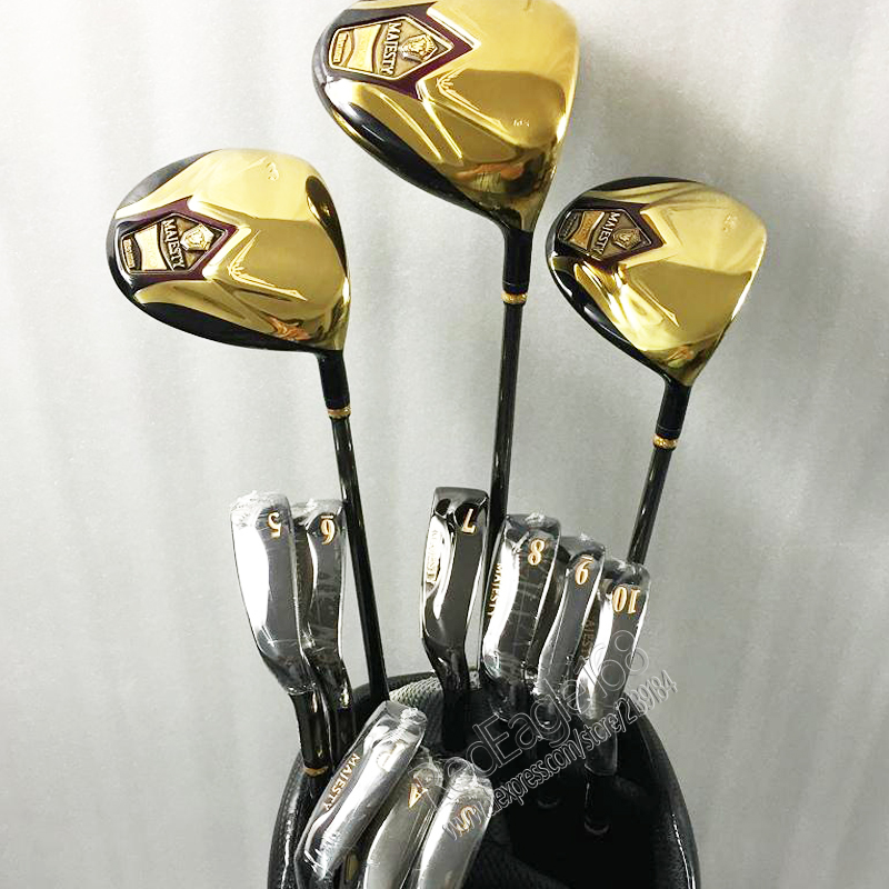 Cooyute New mens Golf clubs Maruman majesty super7 Compelete club set driver+wood+irons Graphite Golf shaft free shipping womens golf clubs maruman rz complete clubs set driver fairway wood irons graphite golf shaft and cover no ball packs