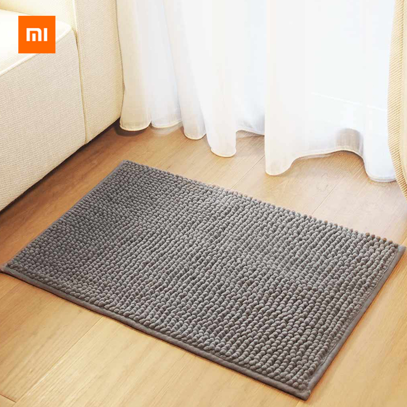 Xiaomi Youpin Zero Chenille Mat Light Gray Super Absorbent Soft Skin Non-slip Breathable Dirty And Washable