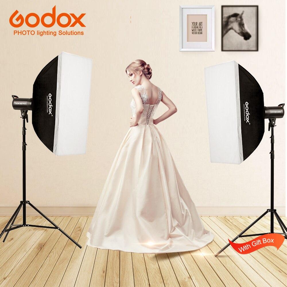 Новый SK400II 110 V 220 V Professional Studio Стандартный наборы SK серии мощность 5600 К к Max 400WS GN65 флэш Strobe Light лампа