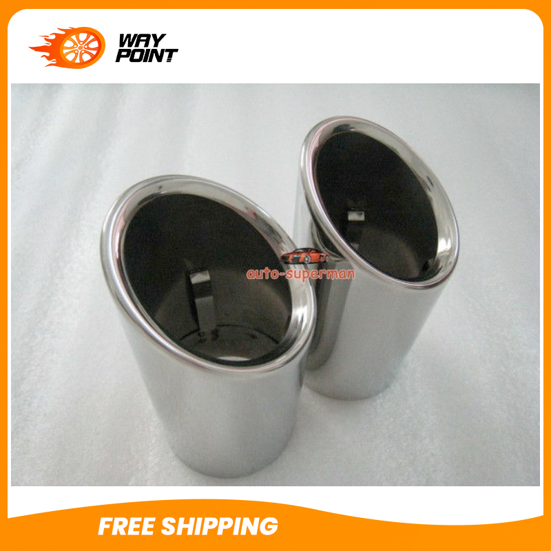 For BMW X3 2 8 xDrive28i F25 2011 2013 CHROME EXHAUST TIP PIPE