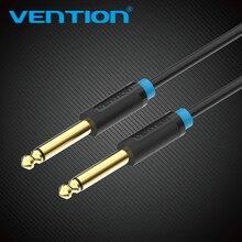 Vention Aux câble de guitare 6.5 Jack 6.5mm à 6.5mm câble Audio 6.35mm câble Aux pour guitare stéréo mélangeur amplificateur haut parleur cablenew