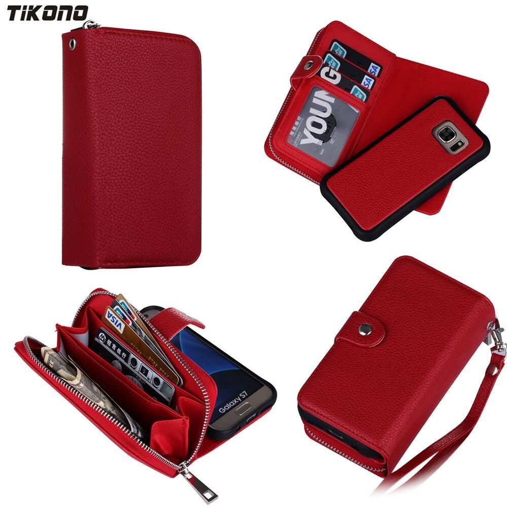 5 portofeluri din piele pentru portofel multi-funcțional cu 5 culori - Accesorii și piese pentru telefoane mobile