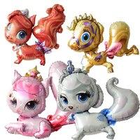Hayvan balon parti dekorasyon malzemeleri helyum ithal kişiselleştirilmiş karikatür karakter sincap hayvan şekilli folyo balonlar
