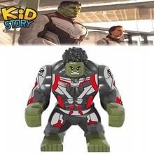 Avengers 4 Endgame Thanos Large Venom Carnage Green Lantern Hulk Figures Building Block Educational DIY Toy gift For Children