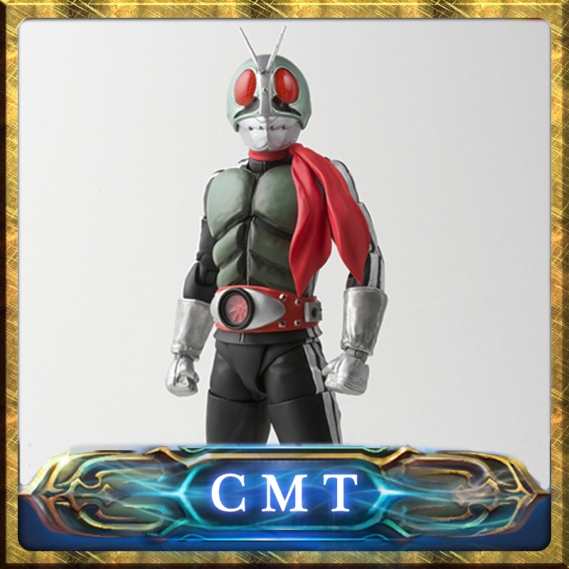 CMT Original Bandai Tamashii Nations S.H.Figuarts Kamen Rider New NO.1 Action Figure Collection Anime Action Figure PVC Toys cmt original bandai tamashii nations s h figuarts shf dragon ball db kid son gokou action figure anime figure pvc toys figure