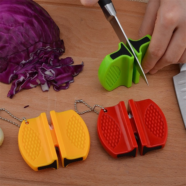 Butterfly Type Tungsten Steel Knife Sharpener