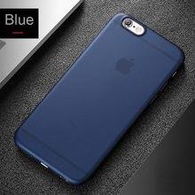 Ультратонкий матовый полипропиленовый чехол для iphone 6 6S Plus 6Plus 6s Plus