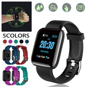 Smart Bracelet Blood Pressure heart rate monitor Waterproof Fitness Tracker Watch Heart Rate Monitor Pedometer heart rate monito