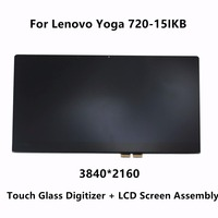 Original LCD Screen Display Panel Touch Glass Digitizer Assembly Replacement For Lenovo Yoga 720 15IKB 80X7001TUS